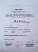 Certifikát kosmetika 1