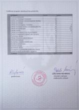 Certifikát kosmetika 2